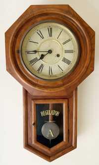 SCHOOL HOUSE REGULATOR CLOCK 'A'