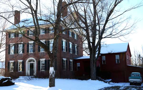 This majestic 1810 Federal, the only 3 story in the North Country, with 8500 square feet, 9 bedrooms, 10 fireplaces and 3.5 bath will be offered at 12:00 noon, with a min bid of $250,000, well under market value. A must see.. Terms $10,000 down day of sale, remainder in 45 days.