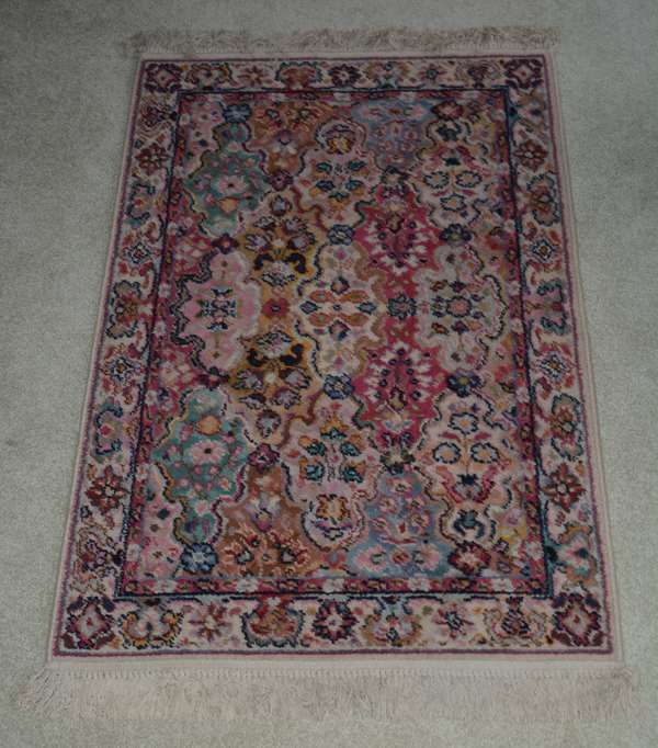 Oriental scatter rug (25-2)
