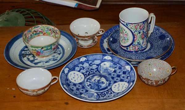 Selection of Oriental porcelain (63-18)