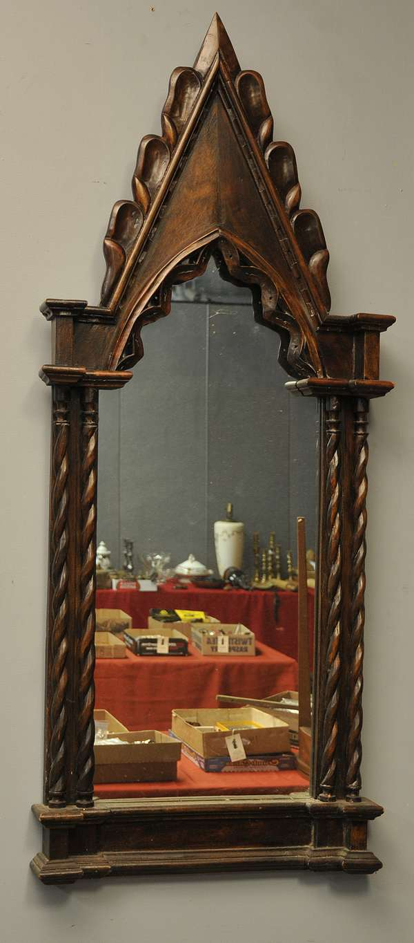 Gothic cathedral mirror (879-61)