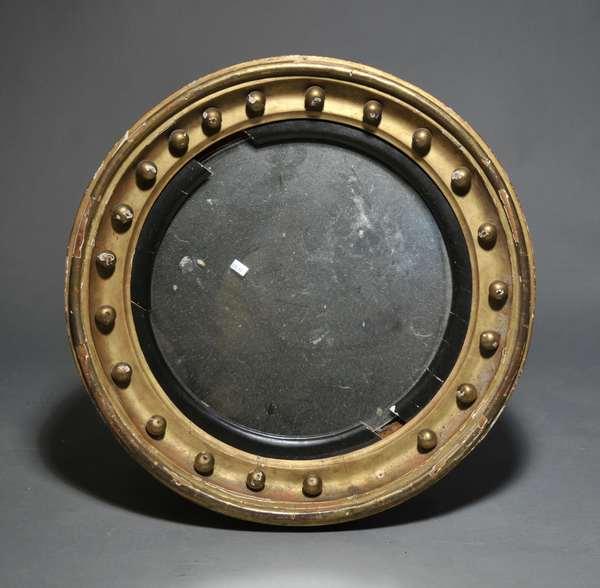 Federal bullseye mirror (879-97)