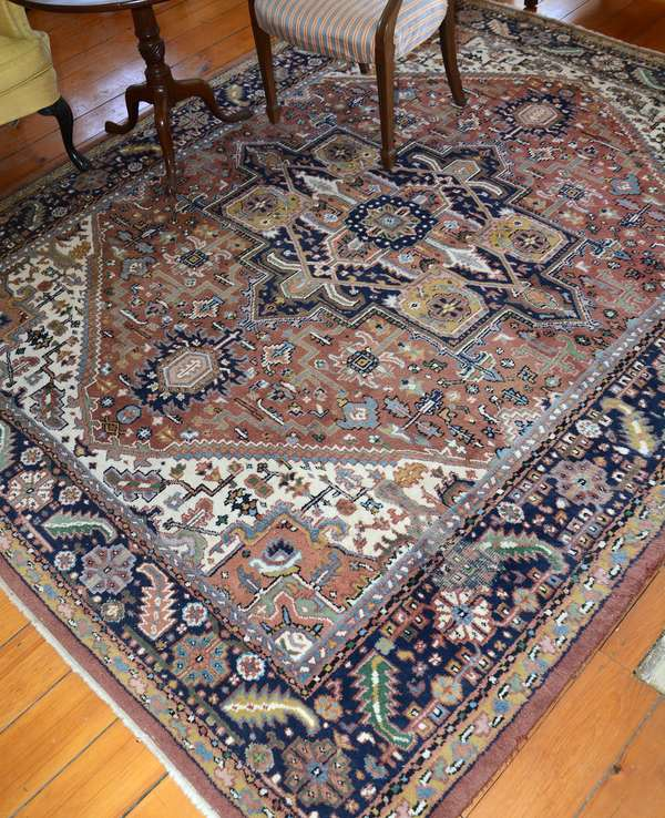 One of several room size rugs (13)