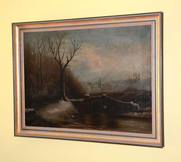 Oil painting, European landscape (31)