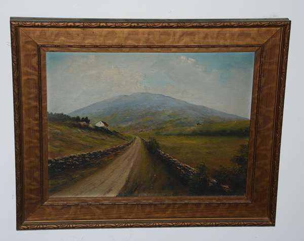 Oil painting of Mt. Ascutney, VT (52)