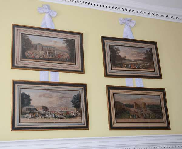 Four French colored engravings (56)