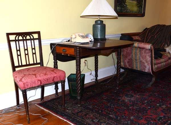 Antique 19th C. furnishings (88)
