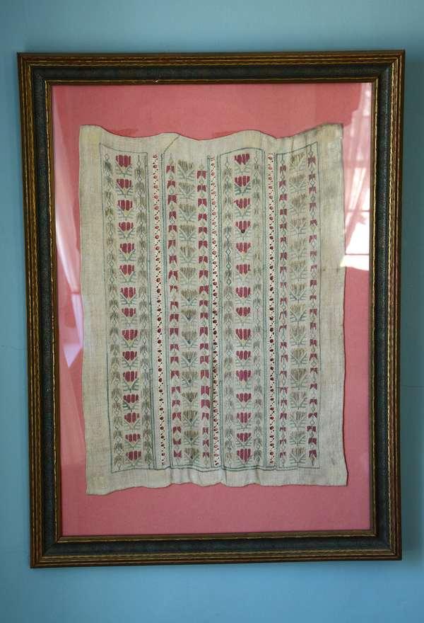 Framed needlework textile (93)