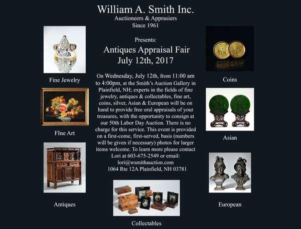 An Antiques Appraisal Fair