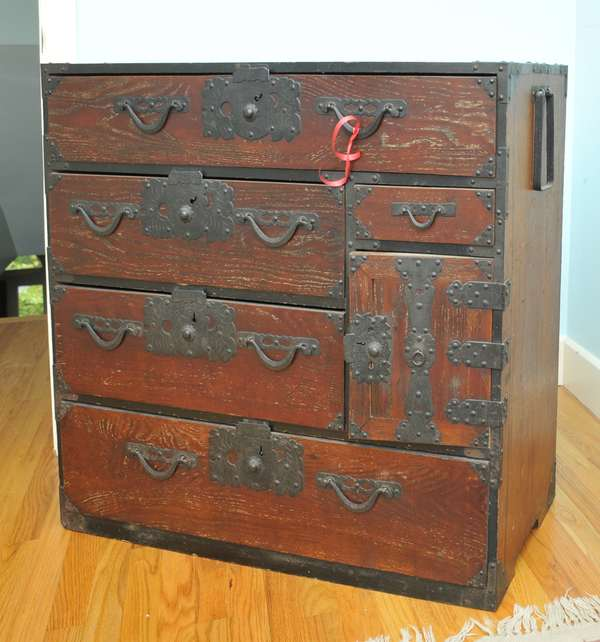 Japanese tansu chest (475-2)