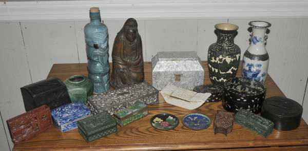 Fred Sand estate collection - Asian collectibles - to be sold in lots