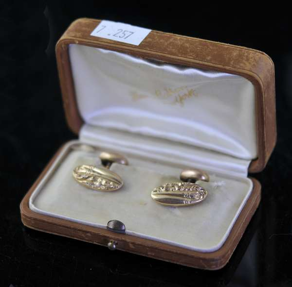 Pair of cuff links(7-257)