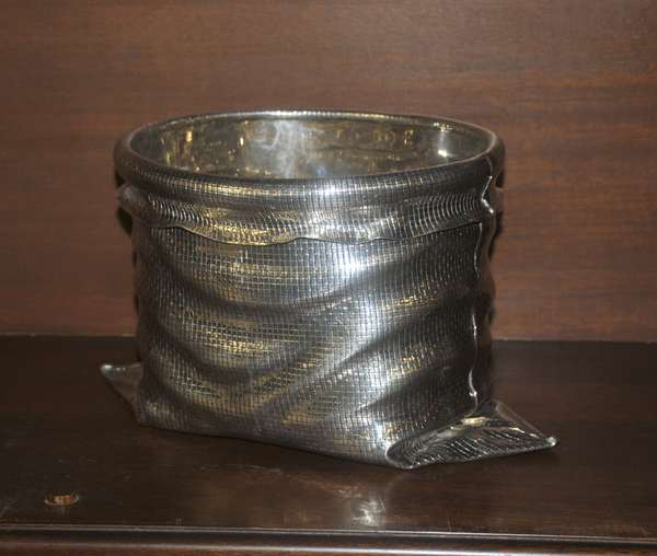 Bag form sterling bowl (208-43)