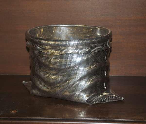 Bag form sterling bowl (208-43)