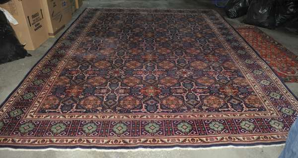 Room size Oriental rug (475-12)