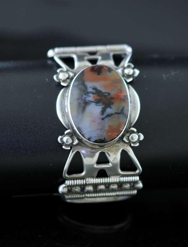 Sterling Indian bracelet (7-263)