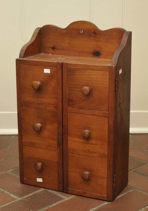Six drawer spice chest (475-19)