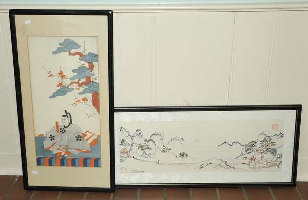 Two Japanese prints (475-24)
