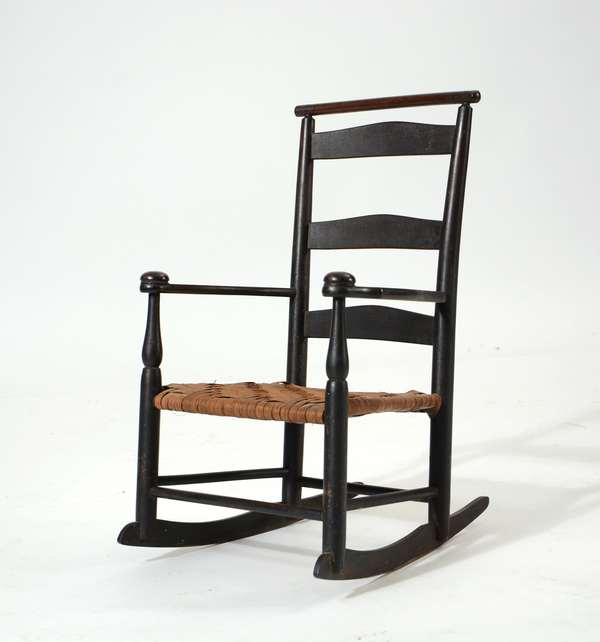 The Amy Bess- 19th C. Shaker child's rocker