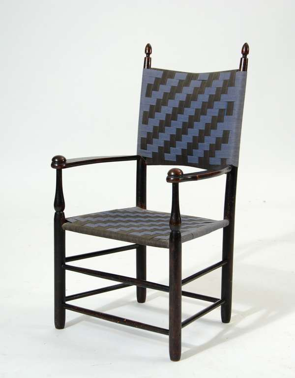 19th C. Shaker child's armchair