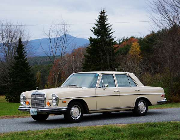 1970 Mercedes 280 SE four door sedan, automatic trans., approx. 70K original miles, with extensive records
