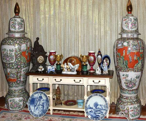 Wonderful array of material, Asian to European