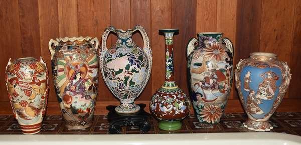 Asian ceramics, Satsuma and more...