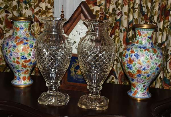 Cloisonné to cut glass, this auction has it all
