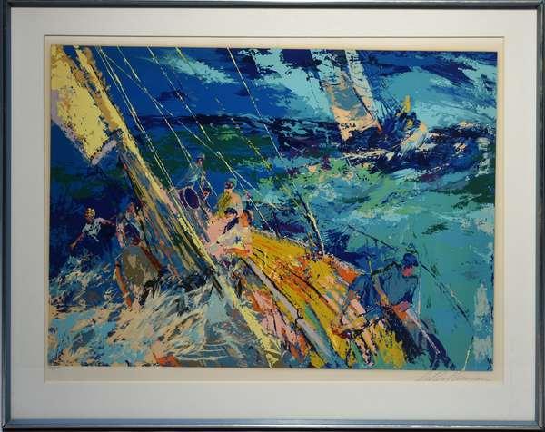 LeRoy Neiman (Am. 1921-2012) serigraph