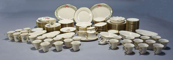 Large Lenox buffet service in Dimension collection