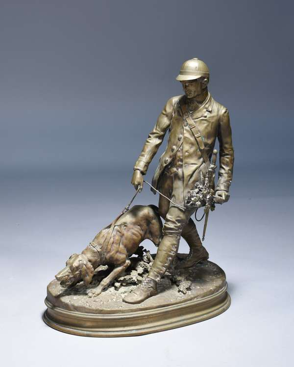 19th C. P.J. Mene (Fr. 1810-1879) bronze