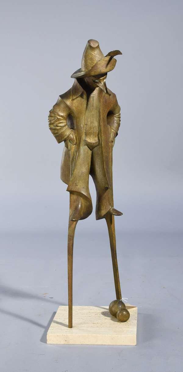 Harry Marinsky (Am. 1909-2008) bronze