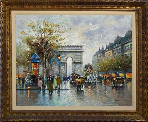 Antoine Blanchard (Fr. 1910-1988) oil on canvas