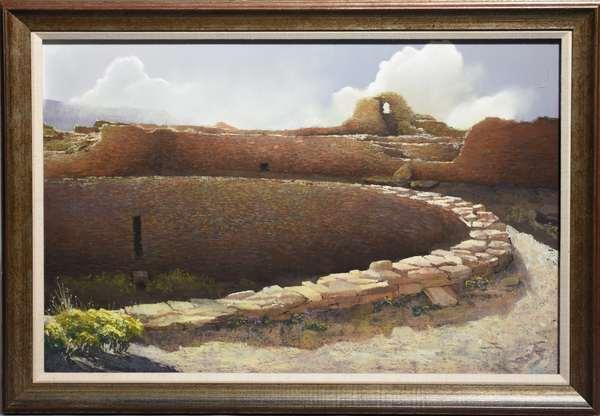 Paul Murray (AM.) pastel Ventana