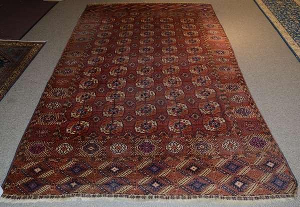 Oriental rug, Bokhara, 11'2