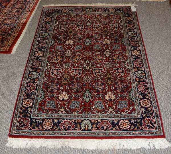 Oriental scatter rug, 6'3
