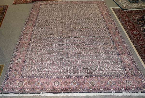 Oriental small room size rug, 9'4