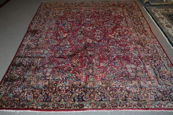 Oriental roomsize rug, 8'7