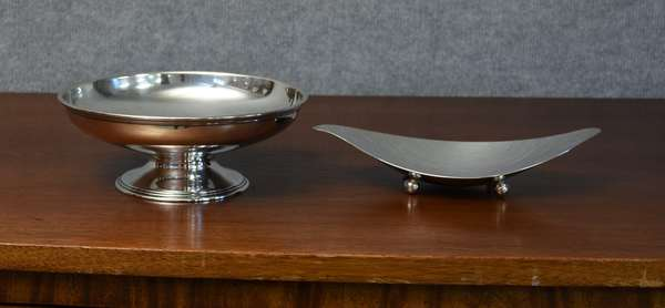 Two modern sterling bowls, Tiffany & Co., 10