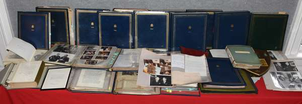 Vast selection of documents, letters, photos, correspondence and more from the Estate of John P. Humes, Ambassador to Austria during the Nixon/Ford Administration, over 25 albums bearing the Great Seal of The US and initials JPH