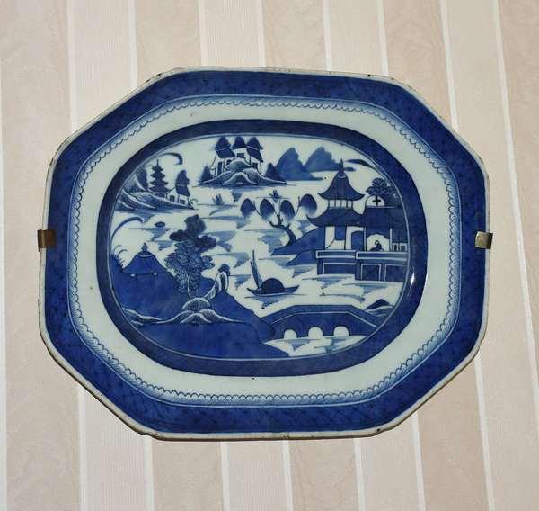 Large Canton platter (900-16)
