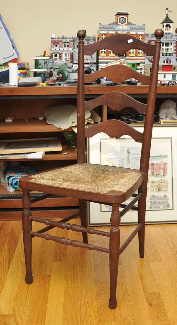 Ladder back side chair (475-16)