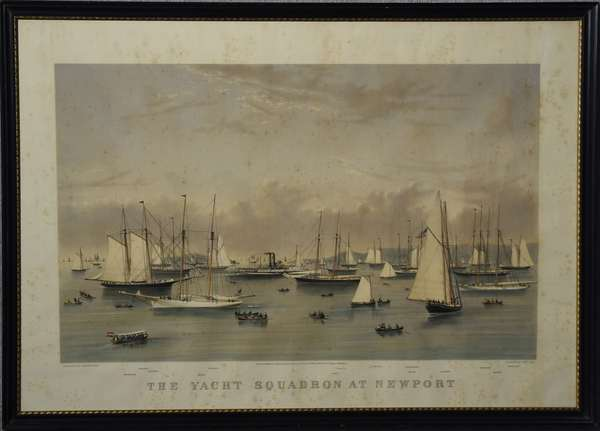 Large folio Currier & Ives,