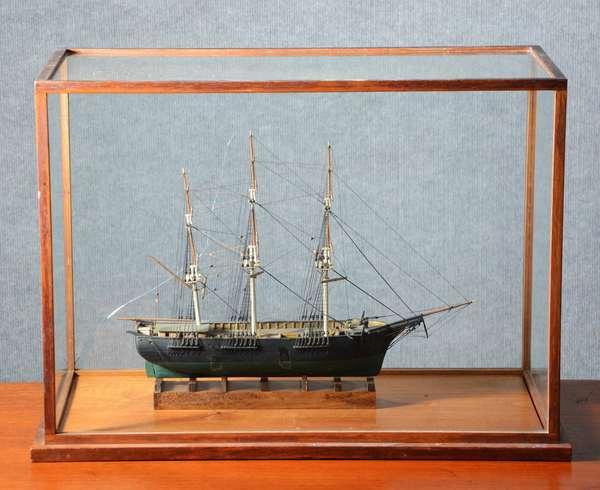 Good 19th C. sailor made ship model