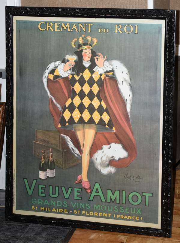 Decorative French poster,