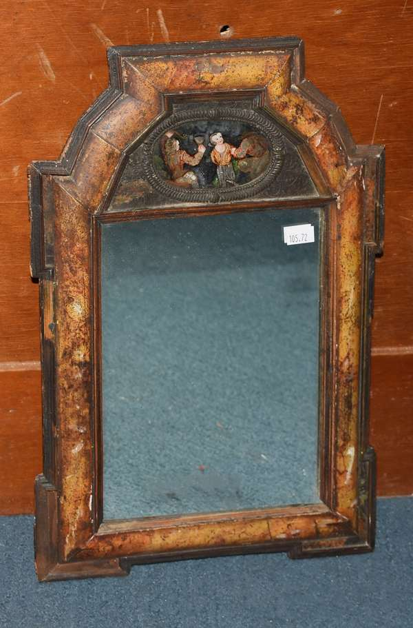 18th C. courting mirror (105-72)