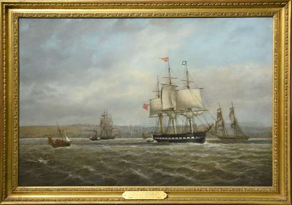Oil on canvas, sailing ship Lady Gordon 283 tons, William Mitchell, (1845-1914) 20