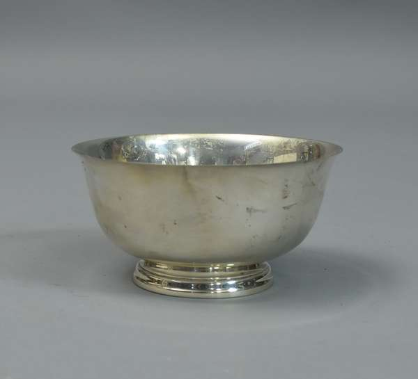 Sterling Revere bowl, approx. 13.25 Toz.