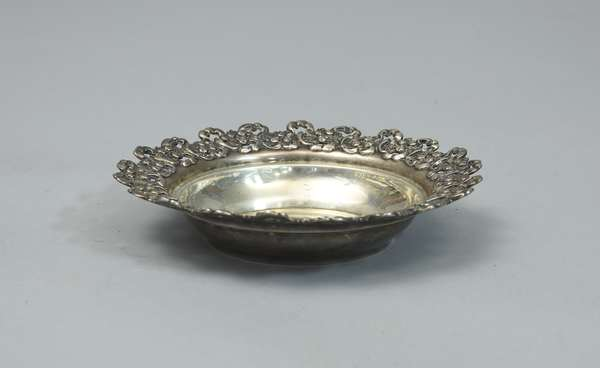 Ornate sterling bowl, approx. 7 Toz.