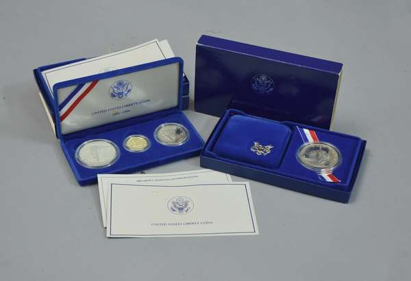 Two U.S. Mint coin sets